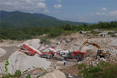 Sandvik Construction jaw crusher delivers high quality aggregate production