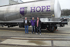 Hope Construction Materials invests in cement rail transportation