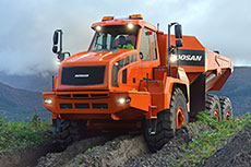Fuel efficiency of new Doosan ADTs reduces cost per tonne