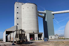 Irondale cement terminal: sustainable cement storage