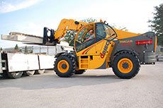 DIECI presents its fixed boom Telehandlers at Bauma 2016