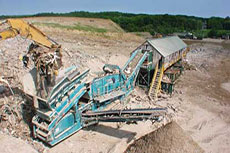 Mining 30-year-old construction debris rejuvenates Potomac Landfill operations