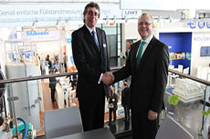 Malvern Instruments and NETZSCHE sign agreement at Powtech