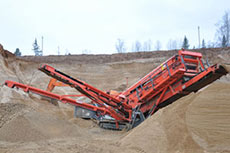 Case study: Sandvik mobile screening equipment in use in Russia