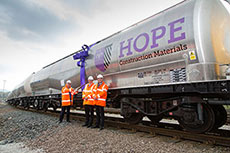 Hope's new rail wagons unveiled