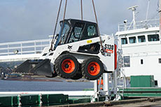 New Bobcat loader for Scotline Ltd