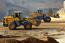 SDLG wheel loaders help with concrete production in China