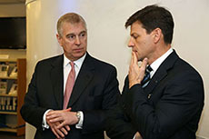 The Duke of York visits BSRIA
