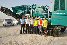 Al-Mohsen Engineering invests in Powerscreen equipment