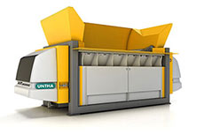 UNTHA introduces new XR shredder model range