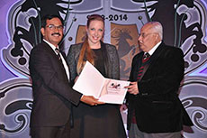 Bharathi Cement wins 'Asia's Most Promising Brand' award