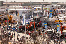 New logo for bauma ahead of 2016 trade fair