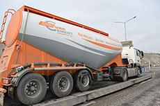 New Eurocement branded trucks