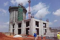 A TEC provides know-how for cement plant erection in Angola