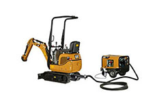 Caterpillar adds 300.9D VPS to mini-hydraulic excavators range