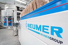 BEUMER fillpac®: Filling technology for the building industry