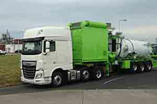 Greens Environmental launches new high vac tank trailer