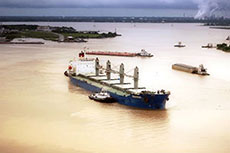Cemex reinforces busy ship channel