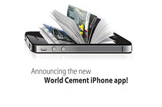 World Cement releases its brand new iPhone/iPad App