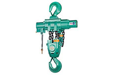 Air operated hoists provide the safe solution