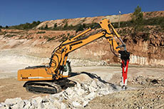 New Rammer hydraulic breakers help with gypsum production