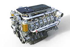 Stage IV/Tier 4 final diesel engines for LHM