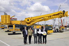 Liebherr sells 50th LTM 11200-9.1 crane