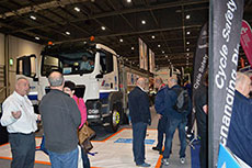 MPA highlights road safety at the London Bike Show 2015