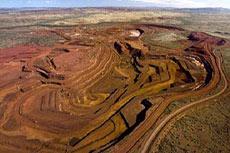 Rio Tinto opens new iron ore mine in the Pilbara's Robe Valley