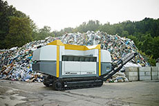 Mobile shredder to take centre stage at IFAT 2016