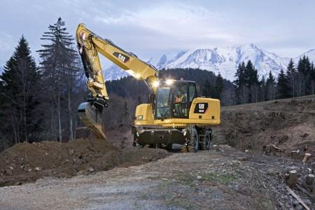 Cat® F-Series wheel excavators feature new design enhancements