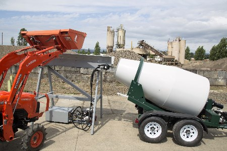 Small concrete batching saves short-load fees