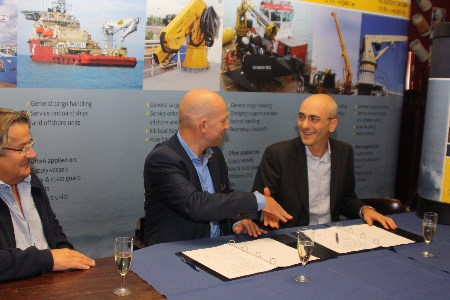 Heila Cranes and Van Aalst sign distribution contract