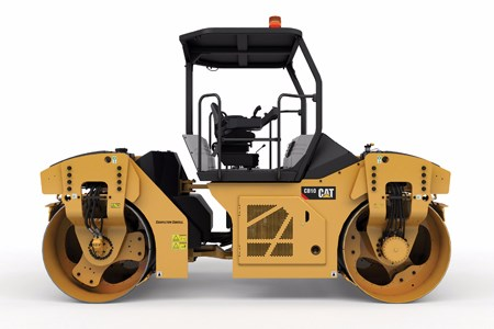 Caterpillar adds to the new CB10 asphalt compactor