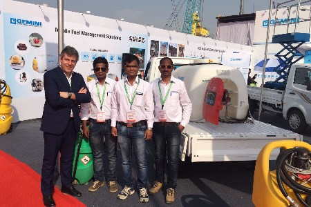 Emiliana Serbatoi takes part in Bauma Conexpo India