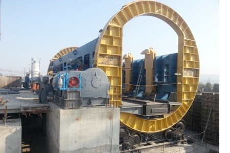DTS Group delivers wagon tippler to Ivano-Frankivskcement