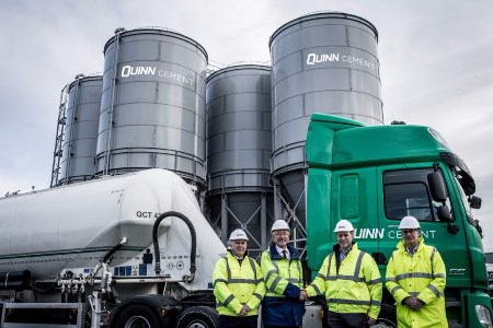 Quinn Cement opens new cement export hub