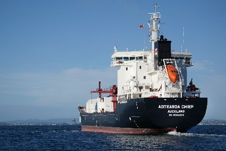 New cement carrier joins New Zealand trade