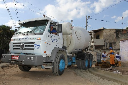 Increasing productivity of cement mixer trucks