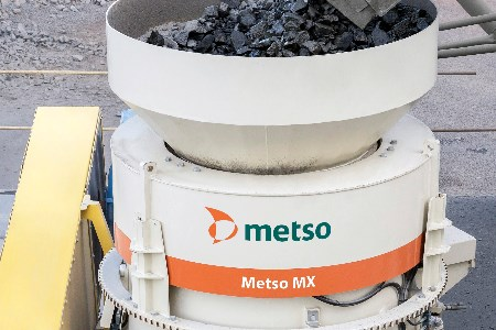Metso to introduce MX cone crusher at Steinexpo
