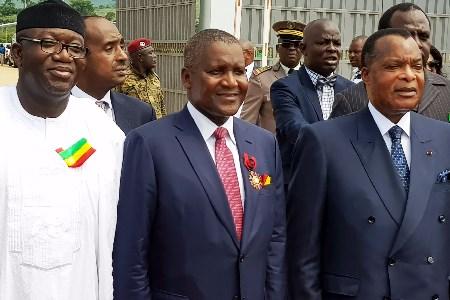 Dangote opens Congolese cement plant