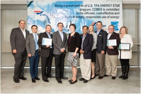 CEMEX USA cement plants recognised for energy efficiency