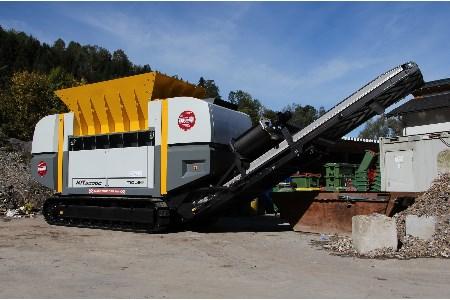 Mobil-e shredder provided for Austrian firm