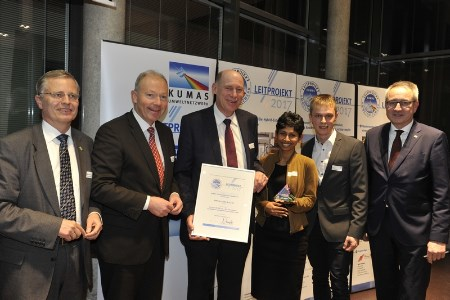 BWF Envirotec team presented with the KUMAS Award