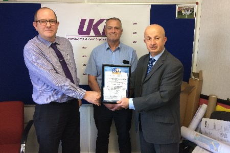 UKD Groundworks & Civil Engineering receive ISO accreditation