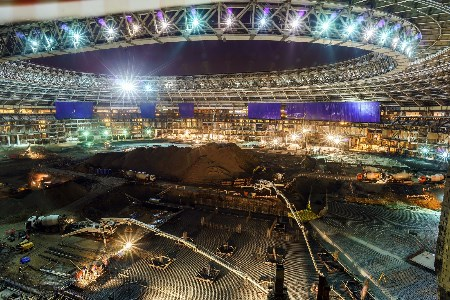 LafargeHolcim helps Russia rebuild for upcoming World Cup