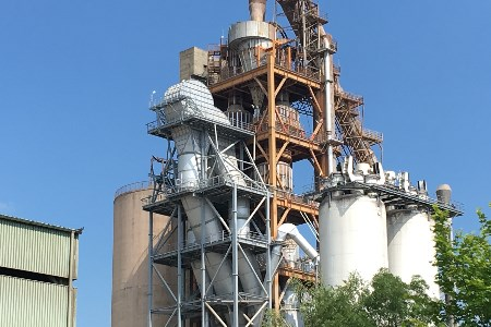 Latest EPC kiln line upgrade project for Duna Drava Cement in Vác, Hungary
