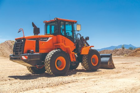 Doosan Construction Equipment to display range of products at World of Concrete exhibition