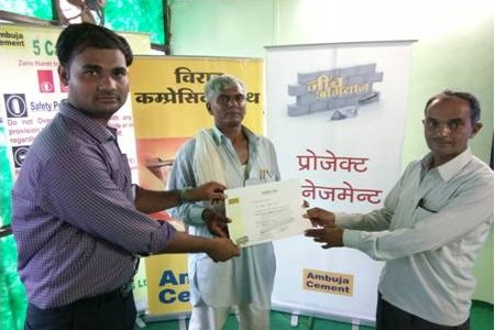Ambuja Cement's 'Neev Abhiyan' programme promotes sustainable construction